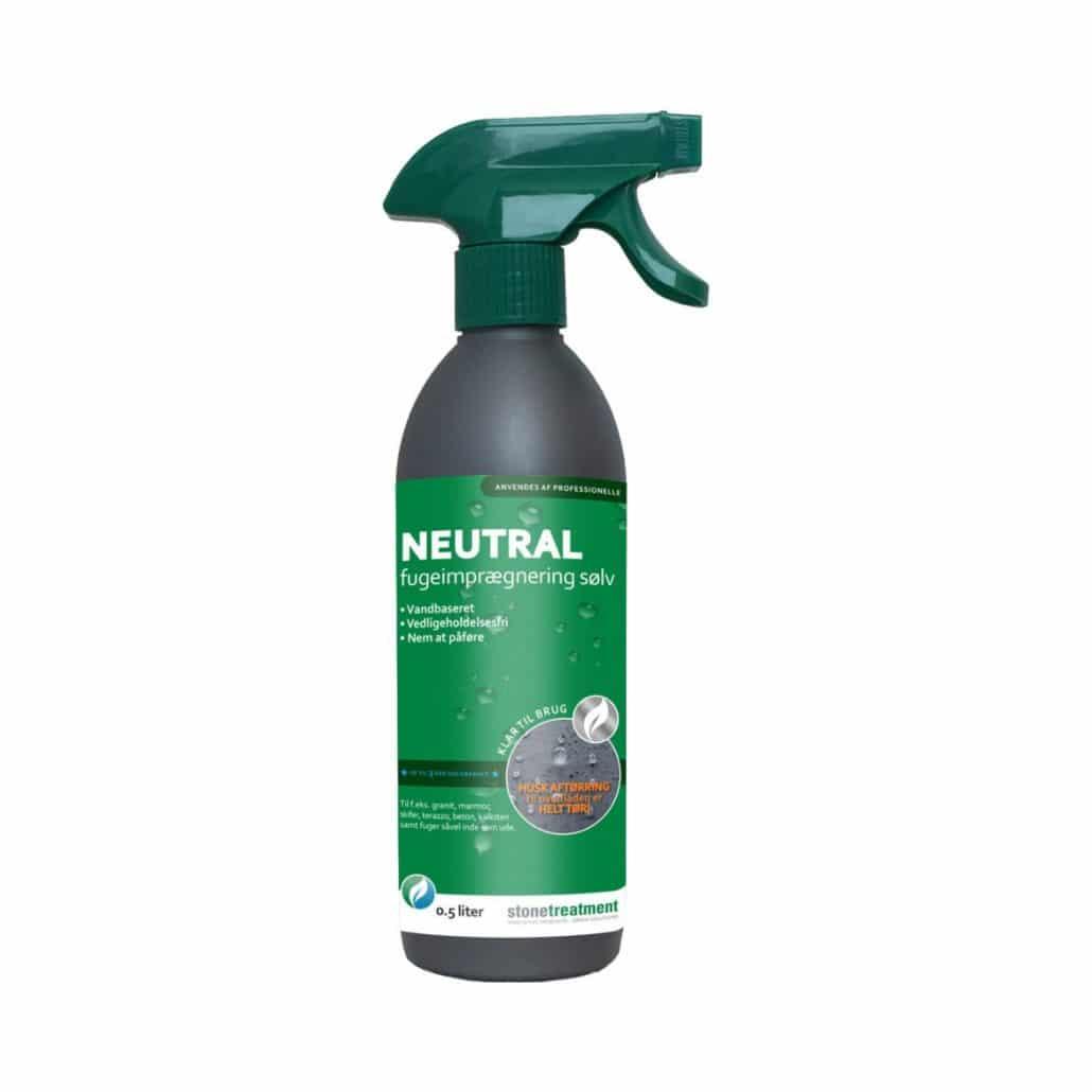 Neutral fugeimprægnering spray