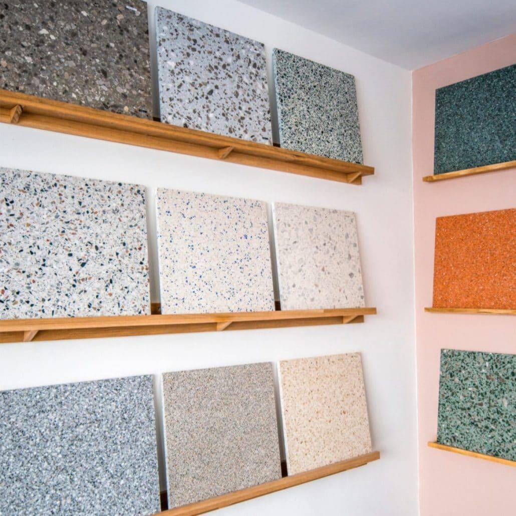 Danmarks største udvalg af terrazzo fliser